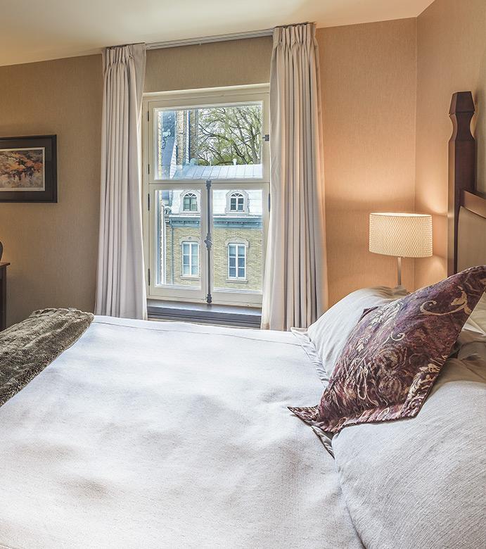 Une chambre de l'Hôtel Château Laurier Québec